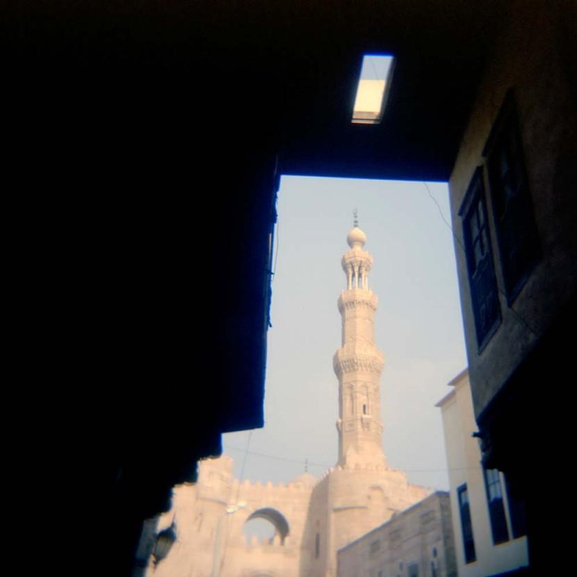 Framed Minaret