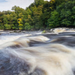 Aysgarth Falls in full spate